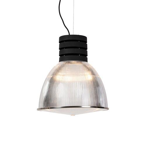 QAZQA Przemysłowa lampa wisząca czarna - Przemysł