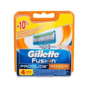Gillette Fusion Proglide Power wkład do maszynki 4 szt dla mężczyzn