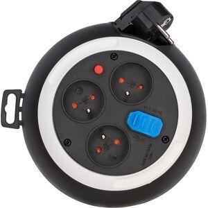 Brennenstuhl Przedłużacz zwijany USB biurkowy  3m