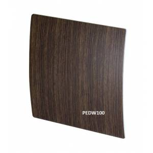 Awenta kratka wentylacyjna ozdobna wenge drewno inox kolory fi100