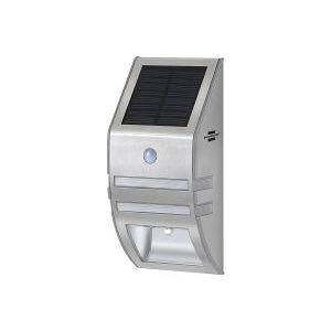 Brennenstuhl lampa solarna  z czujką ruchu na elewacje niemiecka kinkiet lampa solarna kinkietowa SOL WL 02007