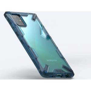 Etui Ringke Fusion X do Samsung Galaxy A51 Space Blue + 2x Folia Ringke