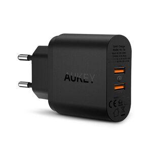 Ładowarka sieciowa Aukey PA-T16 2xUSB Quick Charge 3.0