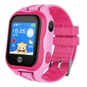 FOREVER Smartwatch See Me KW-300 Różowy