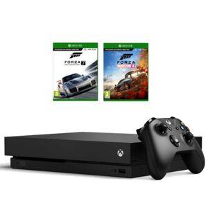 Microsoft Konsola XBOX ONE X 1TB + Forza Horizon 4 + Forza Motorsport 7