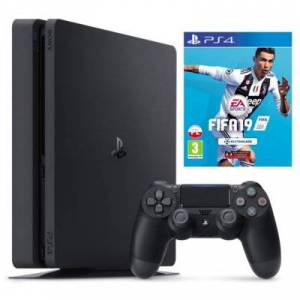 Sony Konsola PlayStation 4 Slim 1TB + Gra Fifa 19