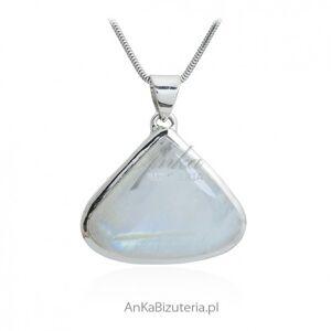 ankabizuteria.pl  Cudny wisior srebrny z kamieniem księżycowym