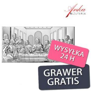 ankabizuteria.pl  Obraz ostatnia wieczerza 65 cm/32 cm