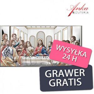ankabizuteria.pl  Obraz ostatnia wieczerza - kolorowy 65 cm/32 cm