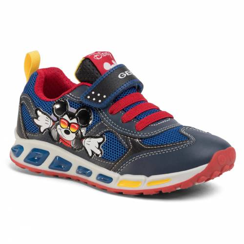Geox Sneakersy GEOX - J Shuttle B. A J0294A 01454 C0735 D Navy/Red