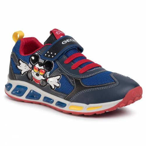Geox Sneakersy GEOX - J Shuttle B. A J0294A 01454 C0735 DD Red/Royal