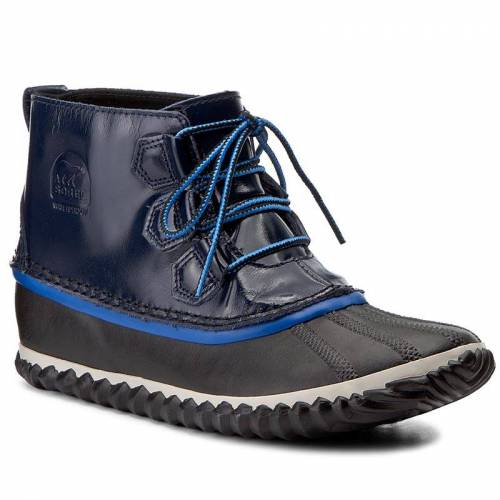Botki SOREL - Out N About Rain NL2511 Collegiate Navy 464