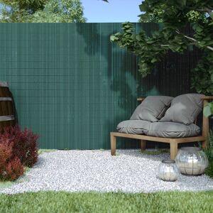 Jarolift Płotek ogrodowy PVC Premium, szer. listwy 17 mm, Zielony, wysokość 1m x długość 5m