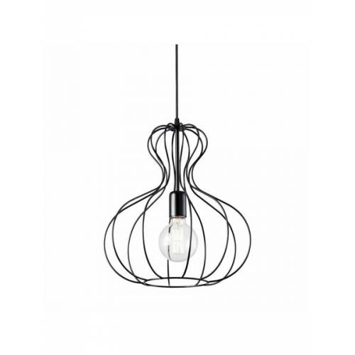 Ideal Lux Lampa wisząca AMPOLLA-1 SP1 NERO