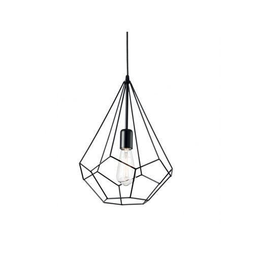 Ideal Lux Lampa wisząca AMPOLLA-3 SP1 NERO
