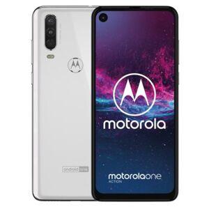 Motorola Smartfon  One Action 4/128GB Biały