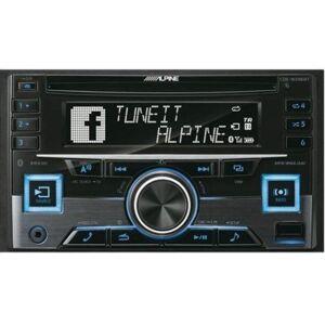 Alpine Radio samochodowe  CDE-W296BT