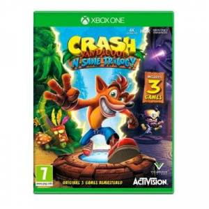 CENEGA Crash Bandicoot N. Sane Trilogy Gra XBOX ONE