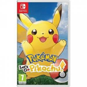 Nintendo Pokemon: Let's Go Pikachu! Gra NINTENDO SWITCH