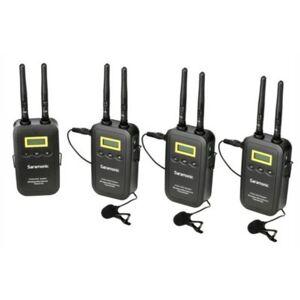 SARAMONIC Bezprzewodowy zestaw audio  VmicLink5 RX5 + TX5 +TX5 + TX5