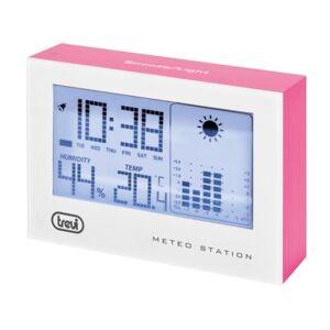TREVI Stacja pogody  ME3103 Różowy