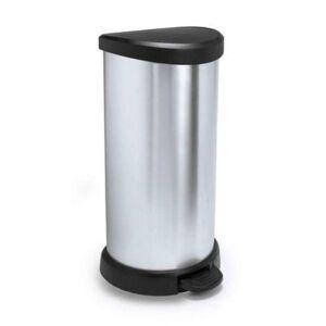 CURVER POLAND Kosz na śmieci CURVER 181125 40L Metalizowany