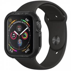 Spigen Etui SPIGEN Rugged Armor do Apple Watch (40 mm) Czarny