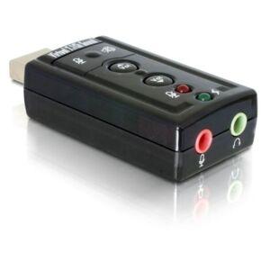 DELOCK Karta dźwiękowa DELOCK USB Sound Adapter 7.1