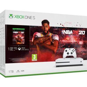 Microsoft Konsola MICROSOFT XBOX ONE S 1TB + NBA 2K20