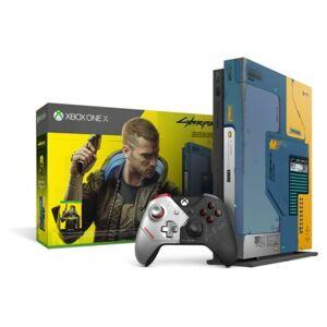 Microsoft Konsola MICROSOFT XBOX ONE X 1TB Limited Edition Cyberpunk 2077