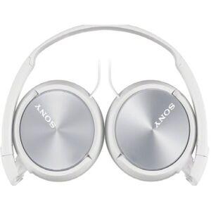 Sony Słuchawki nauszne SONY MDRZX310APW z mikrofonem Biały