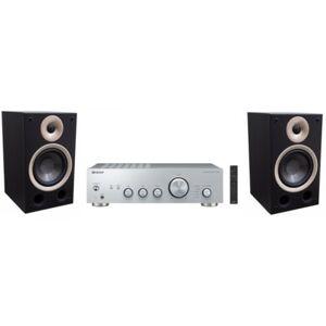 Pioneer Zestaw stereo  A40AES + TAGA Azure B-40 Czarny