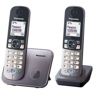 Panasonic Telefon PANASONIC KX-TG6812PDM Bezprzewodowy Szary