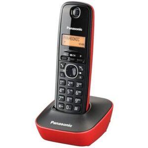 Panasonic Telefon PANASONIC KX-TG1611PDR Czarno-czerwony