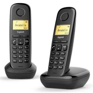 Siemens Telefon GIGASET A170 Duo Czarny