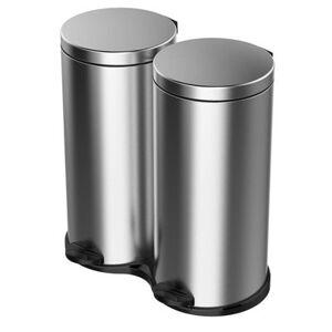 MELICONI Kosz na śmieci MELICONI Ecolux 60L Srebrny