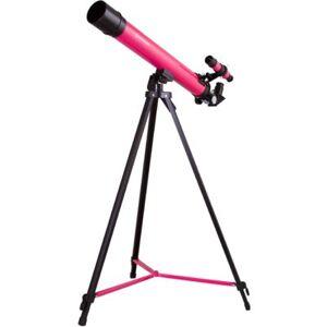 BRESSER Teleskop  Junior Space Explorer 45/600 AZ Różowy