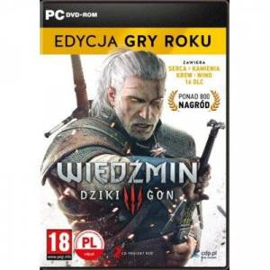 CDP Wiedźmin 3: Dziki Gon - Edycja Gry Roku Gra PC