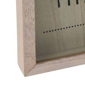 Pojemnik RAMKA na ścianę skarbonka na korki kapsle zakrętki do powieszenia skala