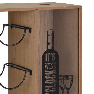 Stojak WINO regał szafka półka na butelki wina - 6 butelek