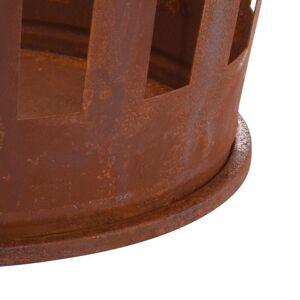 Kosz na drewno kominkowe stojak metalowy LOFT