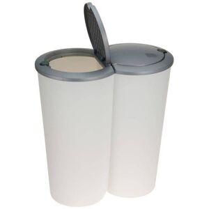 Kosz na odpady / śmieci do segregacji 2x25L