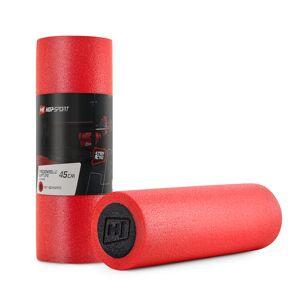 Hop-Sport Wałek roller do masażu EPE 45cm czerwono-czarny