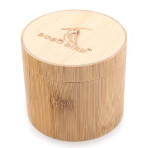 BOBO BIRD Okrągłe pudełko drewniane BOBO BIRD
