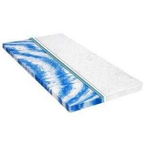 Vidaxl nakładka na materac, 120x200 cm, pianka żelowa, 7 cm Bielizna stołowa i pościelowa Maty na materace