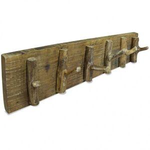 Vidaxl wieszak na płaszcze, lite drewno z odzysku, 60 x 15 cm Dekoracje Wieszaki na kurtki i płaszcze