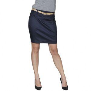 Vidaxl spódnica mini z paskiem, granatowa, 34 Dekoracje Sztuczne rośliny