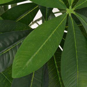 Vidaxl sztuczna pachira wodna z doniczką, 85 cm, zielona Dekoracje Sztuczne rośliny