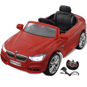 Vidaxl bmw - samochód zabawka dla dzieci na baterie z pilotem czerwony Zabawki Pojazdy elektryczne