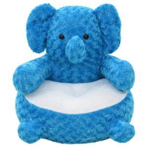 Vidaxl pluszowy słoń przytulanka, niebieski Akcesoria hydrauliczne Krany i baterie